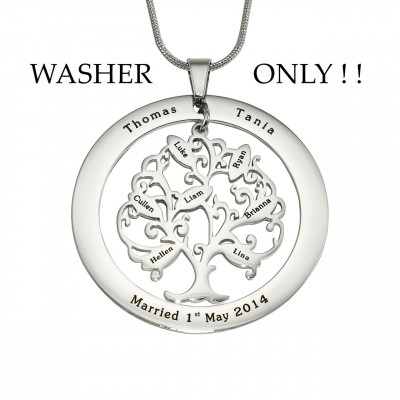 Personalised ADDITIONAL Tree of My Life WASHER ONLY - The Name Jewellery™