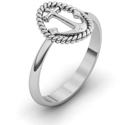 Anchor Ring - The Name Jewellery™