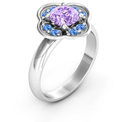 Blossoming Love Engagement Ring - The Name Jewellery™
