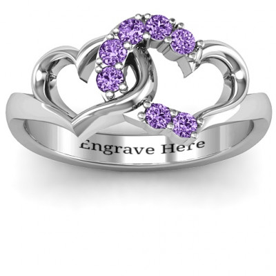 Connecting Hearts Ring - The Name Jewellery™