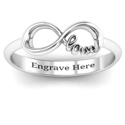 Love Infinity Ring - The Name Jewellery™