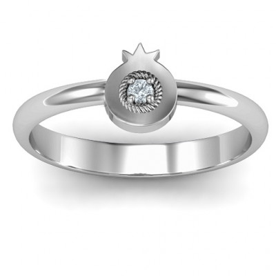 Pomegranate Ring - The Name Jewellery™