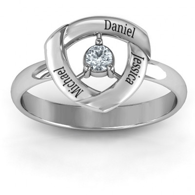 Protective Shield Ring - The Name Jewellery™