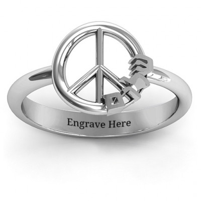 Shalom Peace Ring - The Name Jewellery™