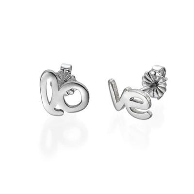 Hope and Love Stud Earrings - The Name Jewellery™