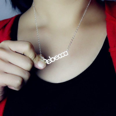 Make Your Own Name Necklace Sterling Silver - The Name Jewellery™
