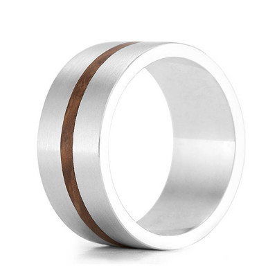 Wood Ring Drift - The Name Jewellery™