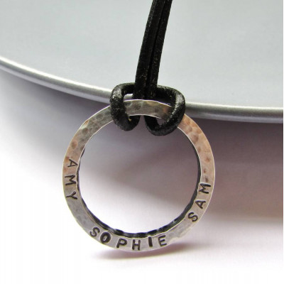 Personalised Daddy Necklace - The Name Jewellery™