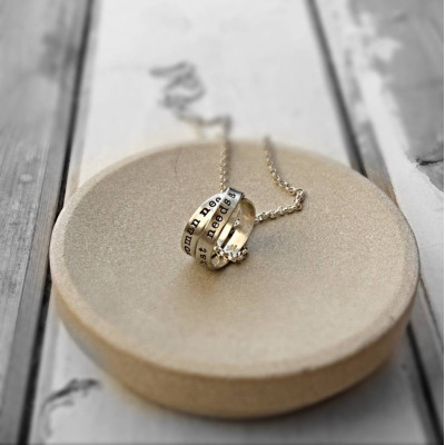 Personalised Mens Rumours Necklace - The Name Jewellery™