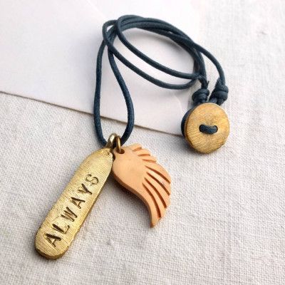 Personalised Tag Necklace - The Name Jewellery™